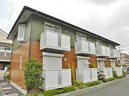 神奈川県大和市桜森3丁目の賃貸アパートの外観