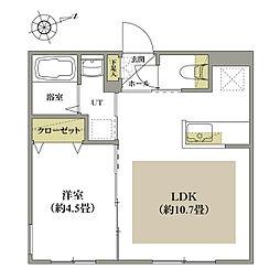 北海道札幌市中央区北二条西20丁目の賃貸マンションの間取り