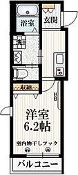 (仮称)南荻窪1丁目メゾン 2階1Kの間取り