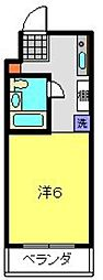 M−STAGE−III[203号室]の間取り