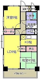 コンフォート市ヶ尾[2階]の間取り