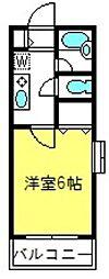 サンモール大和田A[103号室]の間取り