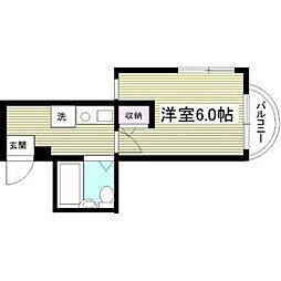 サンシティ稲田堤第5[201号室]の間取り
