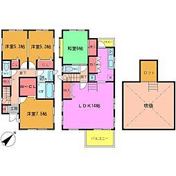 [一戸建] 千葉県浦安市高洲3丁目 の賃貸【/】の間取り