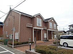 埼玉県狭山市大字下奥富の賃貸アパートの外観