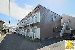 千葉県船橋市田喜野井4丁目の賃貸アパートの外観