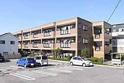 愛知県岡崎市羽根町字陣場の賃貸マンションの外観
