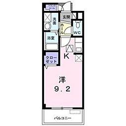 M・Yコート[1階]の間取り