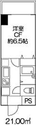 ドミール北新宿2[9階]の間取り