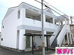 愛知県蒲郡市中央本町の賃貸アパートの外観