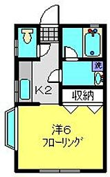 コトードミール[1階]の間取り