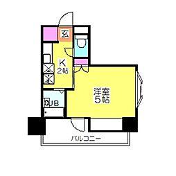 リバー・デイズ綱島[4階]の間取り