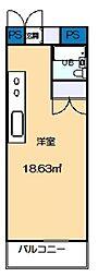サンワードヨシザワ[1階]の間取り