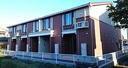 新潟県新発田市中曽根町1丁目の賃貸アパートの外観