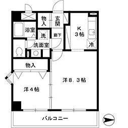 メゾンヴェール[5階]の間取り