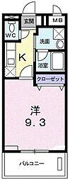 ベルアヴニール[2階]の間取り