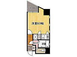 ダイナコート千代県庁口[8階]の間取り