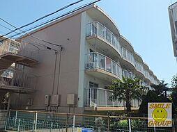 千葉県市川市新井3丁目の賃貸マンションの外観
