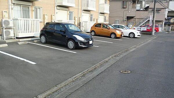 フォルトーナの駐車スペース