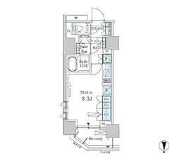パークアクシス蒲田ステーションゲート[5階]の間取り