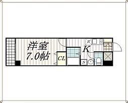 千葉県千葉市花見川区幕張本郷1丁目の賃貸マンションの間取り