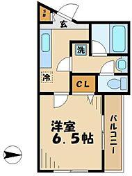 サンフィール5[1階]の間取り