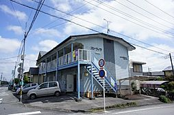 栃木県宇都宮市富士見が丘4丁目の賃貸アパートの外観