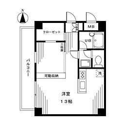 ハイムK・T[2階]の間取り