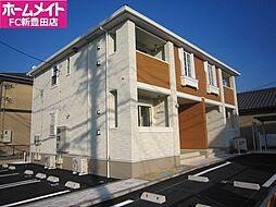 愛知県豊田市竹元町清水ノ上丁目の賃貸アパートの外観
