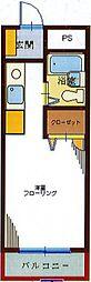 千葉県八千代市八千代台北7丁目の賃貸マンションの間取り
