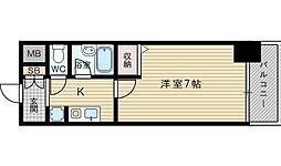 エスリード新大阪第5[4階]の間取り