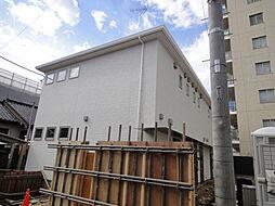 埼玉県草加市谷塚1の賃貸アパートの外観
