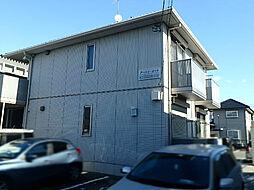栃木県宇都宮市一条4丁目の賃貸アパートの外観