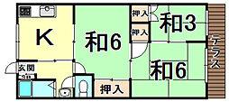 武庫之荘駅 4.5万円