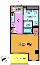 KANEMURAビル No.2[905号室]の間取り