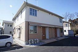 栃木県下野市花の木2丁目の賃貸アパートの外観