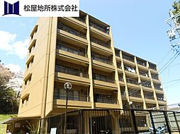 愛知県蒲郡市大塚町山ノ沢の賃貸マンションの外観