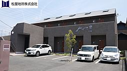 愛知県豊橋市佐藤2丁目の賃貸アパートの外観