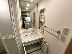 レジディア三宮東の洗面所