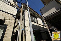 千葉県市川市市川2丁目の賃貸アパートの外観