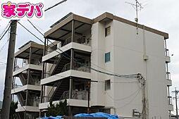 愛知県岡崎市明大寺町字中道の賃貸マンションの外観