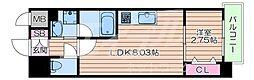 Osaka Metro御堂筋線 江坂駅 徒歩6分の賃貸マンション 5階1LDKの間取り