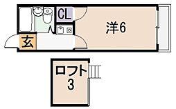 アネモス[1階]の間取り
