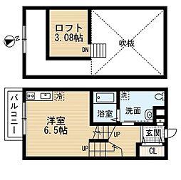 Casa Principe (カーサ プリンチペ)[1階]の間取り