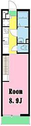 LivLi・MNメゾン[1階]の間取り