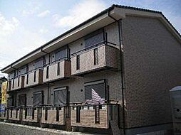 愛知県小牧市大字舟津の賃貸アパートの外観