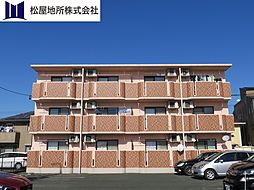 愛知県豊橋市上野町字上野の賃貸マンションの外観