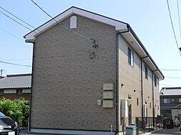 愛知県西尾市寺津町の賃貸アパートの外観