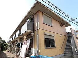 東京都東村山市野口町1の賃貸アパートの外観