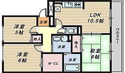 センチュリーコート[1階]の間取り